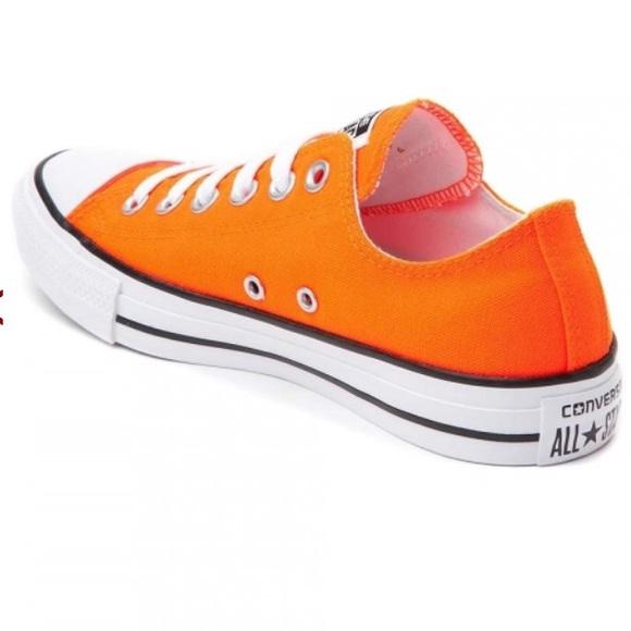 df27d8bac387db Converse Chuck Taylor All Star Low Neon Orange NWT